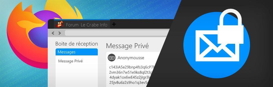 Discutez vraiment en privé : chiffrez